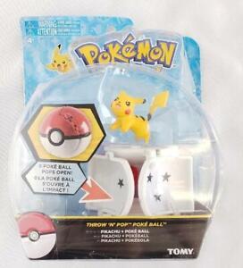 = Tomy Pokemon Throw N' Pop Poke Ball Pikachu and Poke Ball