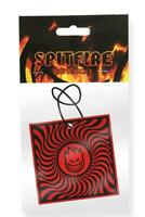 Spitfire Wheels Air Freshener - Black/Red Box Swirl - new sealed skate bmx surf