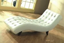 Voll-Leder Relax-Liege-Sofa-Recamiere-Chaiselongue Relaxliege Lederliege 5015-W