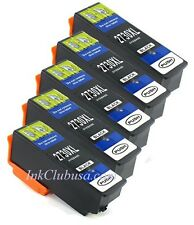 5pk High-Yield Black Ink For Epson 273 273XL Expression XP 600 610 620 800 810