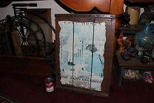 Antique American Radiator Company Wood Box Crate Lid-Ideal Boilers-Dolls-LQQK