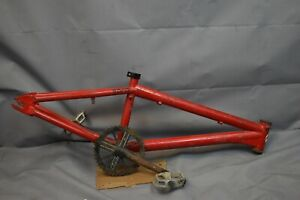 2006 Redline Romp BMX Bike Frame New School Retro Freestyle Trick Steel Charity!