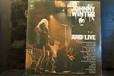 Johnny Winter And – And/Live   2 LPs