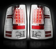 Recon CLEAR LED Tail Lights For Dodge RAM 2013-2016 # 264236CL