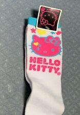 HELLO KITTY KNEE SOCKS SIZE TALLE 9-11 SUPER CUTE ACCESSORY!!