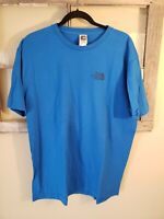 The North Face logo t shirt mens Large Blue