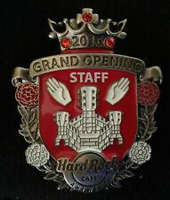 Hard Rock Cafe PinAntwerp - 2016 - Grand Opening GO Staff ERROR