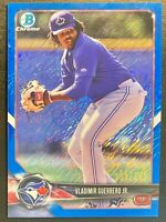 Vladimir Guerrero Jr RC Prospect Rookie 2018 Bowman Chrome Blue Shimmer /150 SSP