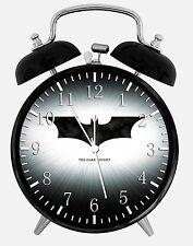 "Batman Alarm Desk Clock 3.75"" Room Decor Y107 Nice for Gifts wake up"