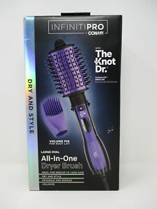 Infiniti-Pro by Conair All-in-One Dryer Brush w/ The Knot Dr. BC116 BRAND NEW