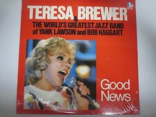 TERESA BREWER & GREAT JAZZ BAND OF LAWSON & HAGGART~GOOD NEWS~Factory Sealed LP