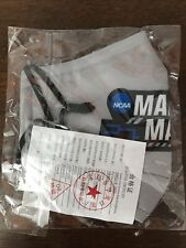 NCAA OFFICIAL 2021 March Madness Gray Men's Basketball Tournament MASK SEALED