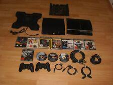 2xSony Playstaion3 40GB+Slim120GB+10xSpiele/2xSony Controller/kompl kabel+lüfter