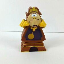"Disney's Beauty and The Beast Cogsworth Clock Piggy Bank Hard Plastic 5.5"""