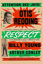 King of Stax & Volt: Otis Redding * Respect * Promotional Poster 1965 11 X 17
