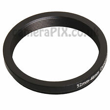 52mm to 46mm Male-Female Stepping Step Down Filter Ring Adapter 52-46 52mm-46mm