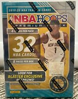 2019-20 Panini NBA Hoops Premium Stock Basketball Blaster Box Zion donruss prizm