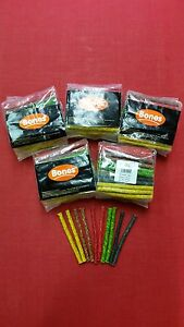 Rawhide Munchy Chew Sticks x5 Packs (400) Natural Hide Dog Dental Treat Crunchy