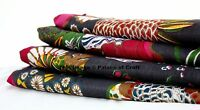 """Designer 44"""" Wide Floral Printed Cotton Fabric Sewing Craft Material By 1 Yard"""