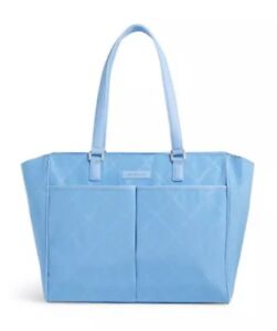 Vera Bradley Preppy Poly Uptown Baby Bag Sky Blue NEW W/ TAGS & PACKAGING