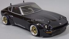 Custom RC 1/10 Drift PANDEM 240z DATSUN 280Z Rocket Bunny AWD Belt CAR RTR Black