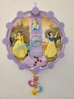 Disney Princess Animated Wall Clock Music and Animation by King America