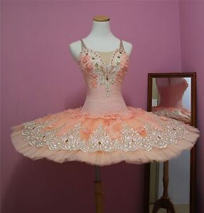 Ballet performance tutu -- Perfomance quality in Apricot colour for Adult