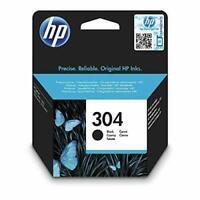 HP N9K06AE 304 Original Ink Cartridge, Black, Single Pack Standard, Black