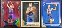 Lot of (3) Ignas Brazdeikis, Including Donruss RC /349, Red Mirror RC & Hoops RC