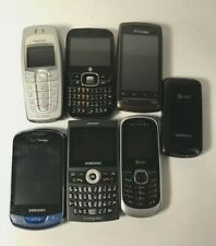 Lot Of 7 Cell Phones For Parts/ Repair Untested! Read The Full Description.