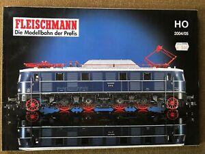 Fleischmann H0 Katalog 2004/2005, 220 Seiten, Hautkatolg