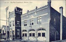 Alliance OH City Fire Dept c1905 Postcard jrf