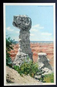 1907-15 Fred Harvey PHOSTINT, Thor's Hammer, Grand Canyon Park AZ