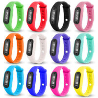 Run Step Bracelet Pedometer Calorie Counter Digital LCD Walking Watches