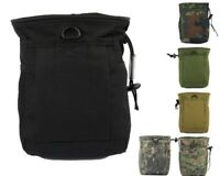Tactical Molle Magazine DUMP Drop Pouch Ammo Bag Utility Pouch Military Hunting