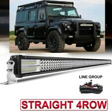 "52"" 3000w LED Light Bar High Intensity Flood Lamp LAND ROVER DEFENDER 90 110 130"