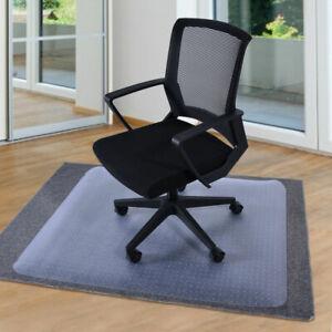 "36"" X 48"" Chair Mat Home Office Computer Desk Floor Carpet PVC Protector W/Lip"