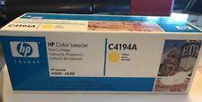 HP Color LaserJet Print Cartridge C4191A Yellow LaserJet Series 4500 4550 NIB