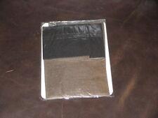 1Pr Semi Opaque Silky Sheer SUPER SHINY Nylon Stockings Sz12XLx36 SteelGrey/Blk