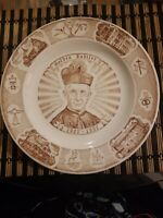 Vtg THE RIGHT REVEREND MONSIGNOR LEO SCHLINDWEIN COLLECTORS PLATE Kettlesprings