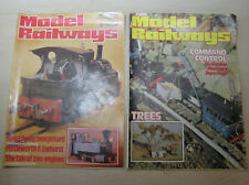 Model Railways Magazine issues June 1980 & March 1982