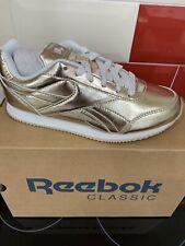 Reebok Royal Classic Jogger 2 Size 2.5 Brass RRP £40 Brand New CN1408