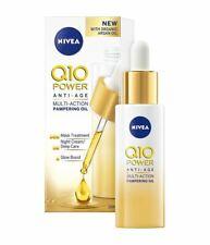Nivea Anti-Wrinkle Oil with Q10 Organic Argan Oil Anti-Age Nourish Regenerate