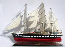 Handcrafted Belem Display Wooden Ship Model
