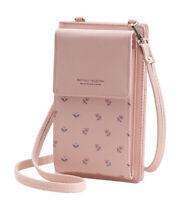Handy Umhängetasche Schultertasche Brieftasche für Damen - PU-Kunstleder