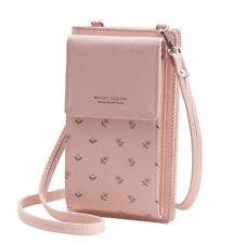 Handy Umhängetasche Schultertasche Brieftasche für Damen PU-Kunstleder