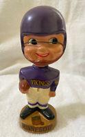 VINTAGE 1960s AFL NFL MINNESOTA VIKINGS BOBBLEHEAD NODDER BOBBLE HEAD