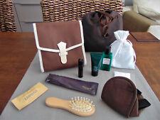 GARUDA INDONESIA First Class HERMÈS Amenity Kit Bag Trousse Neceser Kulturbeutel