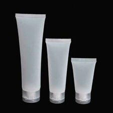Portable 5-10x Empty Plastic Tubes Squeeze Cosmetic Travel Bottles Container UK/