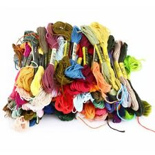 Bracelets Floss Floss Sewing Skeins 100 Color Cross Stitch Thread 100 Colors